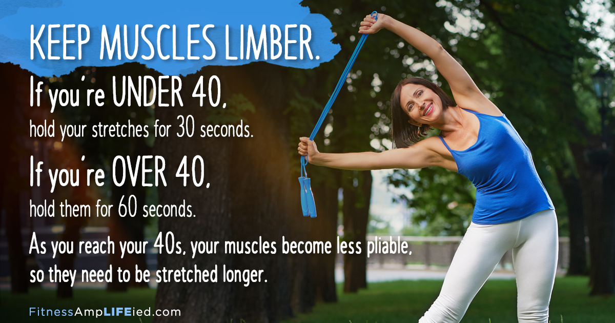 ​Be sure to include range-of-motion exercises such as s...