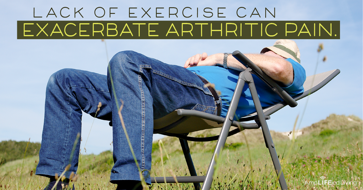Exercise can reduce joint pain and stiffness and can in...